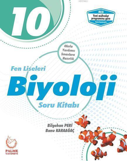 10. Sınıf Fen Liseleri Biyoloji Soru Kitabı