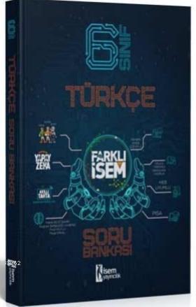 İsem 2021 6.Sınıf Farklı İsem Türkçe Soru Bankası İsem Yayıncılık