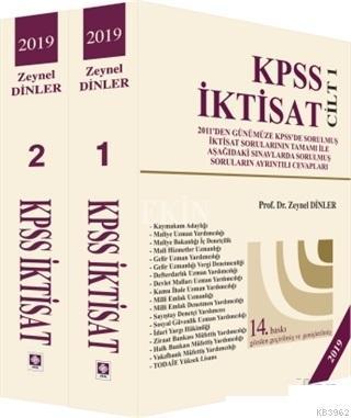 2019 KPSS İktisat; 2 Cilt Takım