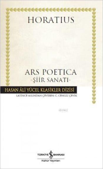 Ars Poetica -Şiir Sanatı- (Ciltli)