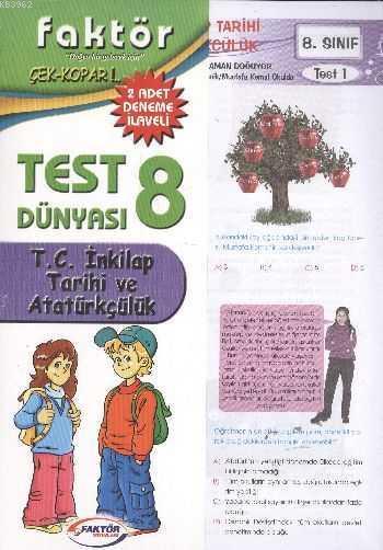 8. Sınıf T.C. İnkılap Tarihi ve Atatürkçülük Test Dünyası