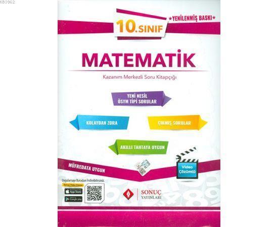 Sonuç Yayınları 10. Sınıf Matematik Set