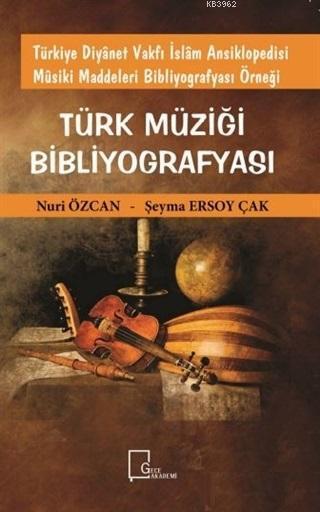 Türk Müziği Bibliyografyası; Türkiye Diyanet Vakfı İslam Ansiklopedisi Musiki Maddeleri Bibliyografyası Örneği