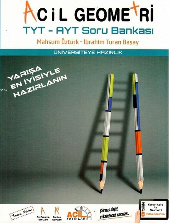 Acil Yayınları TYT AYT Geometri Soru Bankası Acil