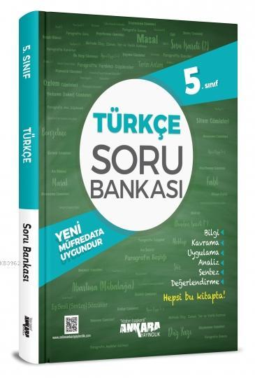 Ankara Yayınları 5. Sınıf Türkçe Soru Bankası Ankara