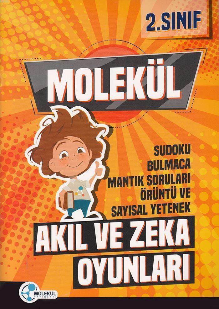 Molekül Yayınları 2. Sınıf Akıl ve Zeka Oyunları (Bilsem) Molekül