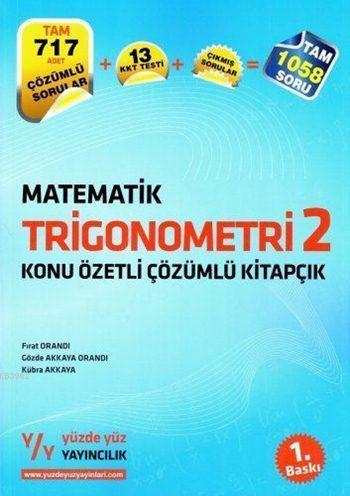 Matematik Trigonometri 2 Konu Özetli Çözümlü Kitapçık