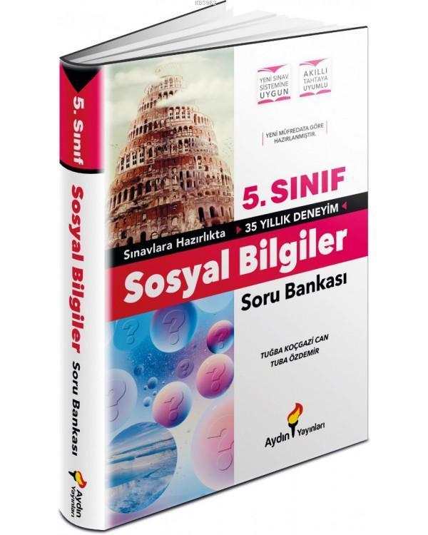 Aydın Yayınları 5. Sınıf Sosyal Bilgiler Soru Bankası Aydın