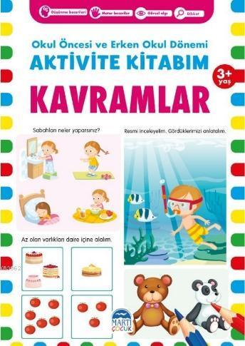 Aktivite Kitabım - Kavramlar ( 3+ Yaş )