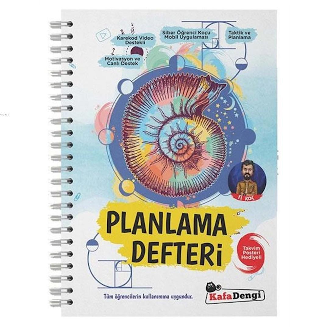 Kafa Dengi Yayınları Fi Planlama Defteri Kafa Dengi