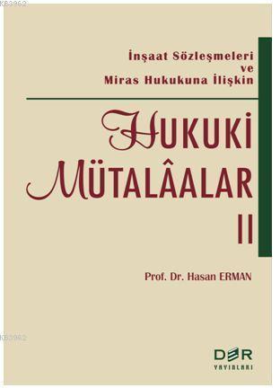 Hukuki Mütalaa II