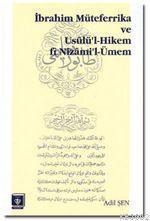 İbrahim Müteferrika ve Usülü'l Hikem fi Nizam'i-Ümmen