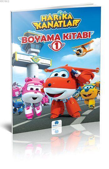 Harika Kanatlar Boyama Kitabi 1 Kolektif 8681234091822 Kitap