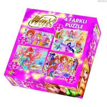Winx Club 4 Farklı Puzzle