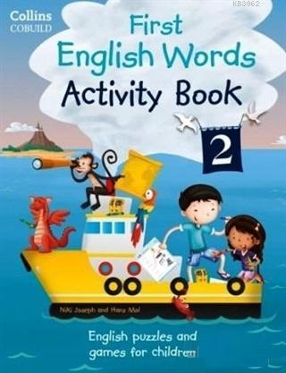Collins Cobuild First English Words Activity Book 2; English Puzzles and Games For Children