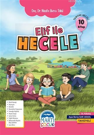 Elif ile Hecele Okuma Seti (10 Kitap); İlkokul 1 Sınıf