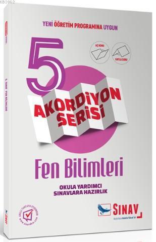 Sınav Dergisi Yayınları 5. Sınıf Fen Bilimleri Akordiyon Serisi Aç Konu Katla Soru Sınav Dergisi