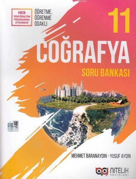 Nitelik Yayınları 11. Sınıf Coğrafya Soru Bankası Nitelik