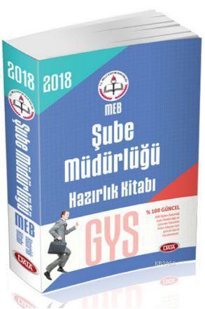2018 Milli Eğitim Bakanlığı GYS Şube Müdürlüğü Hazırlık Kitabı