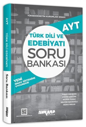 Ankara Yayınları AYT Türk Dili ve Edebiyatı Soru Bankası Ankara