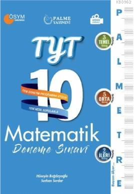 TYT Matematik 10 Deneme Sınavı (Palmetre Serisi)