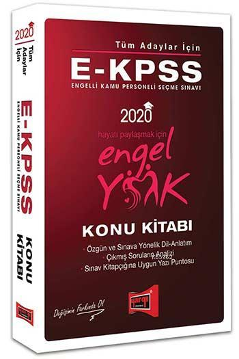 Yargı E-Kpss Engel Yok Konu Kitabi 2020