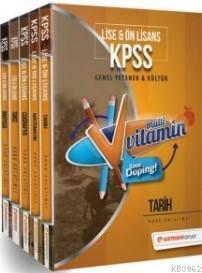 2018 KPSS Lise Ön Lisans Genel Yetenek Genel Kültür Multi Vitamin Konu Anlatımlı Modüler Set