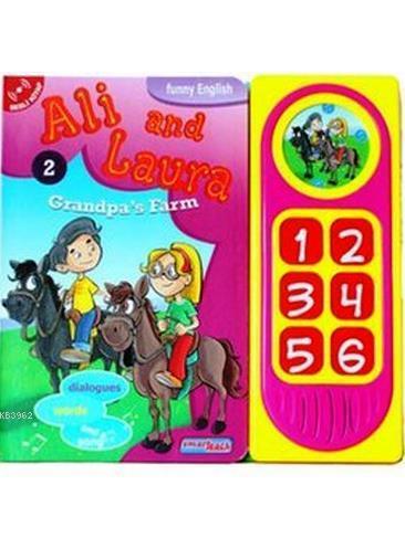 Ali and Laura 2 - Grandpa's Farm; Konuşan Sesli Kitaplar
