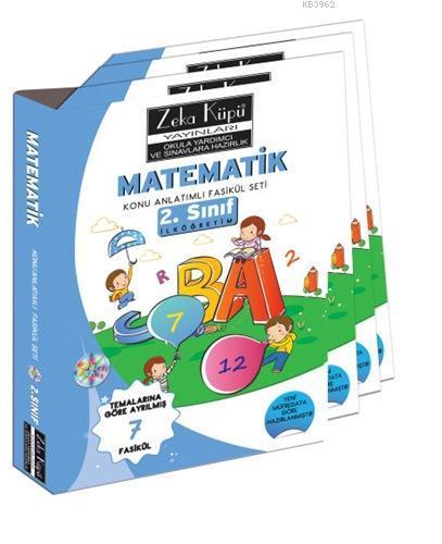 2. Sınıf Matematik Konu Anlatımlı Soru Bankası; Temalarına Göre Ayrılmış 7 Fasikül