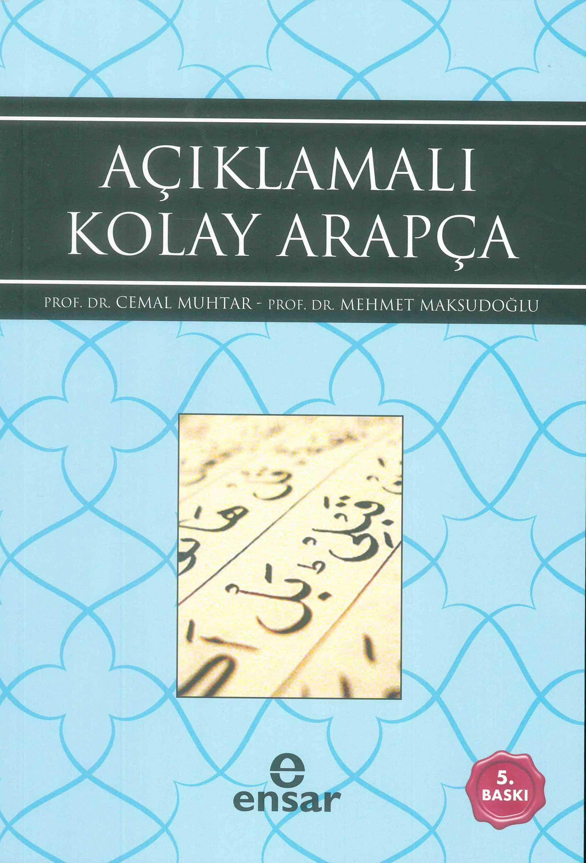 Açıklamalı Kolay Arapça