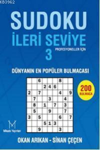 Sudoku İleri Seviye 3; Profesyoneller İçin