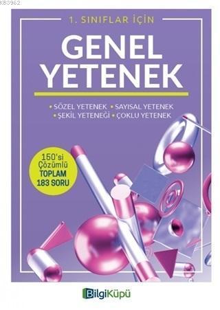 Bilgi Küpü Yayınları 1. Sınıflar İçin Genel Yetenek Bilgi Küpü