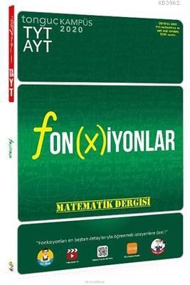 TYT AYT Fonksiyonlar Matematik Dergisi Tonguç Akademi Yayınları