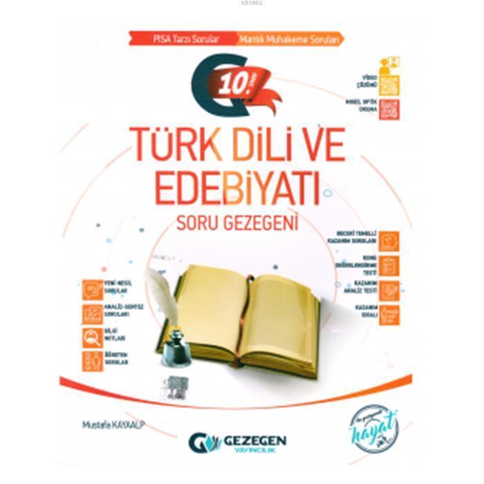 10. Sınıf Türk Dili ve Edebiyatı Soru Gezegeni
