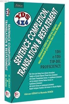 YDS 4x4 Set 1. Kitap; Sentence Completion, Translation & Restatement