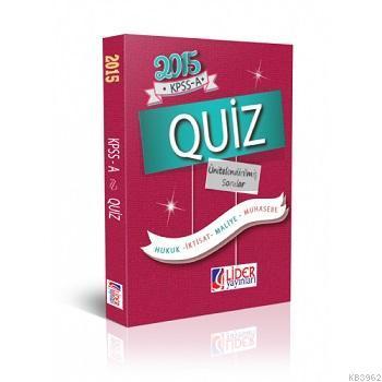 2015 KPSS A Quiz