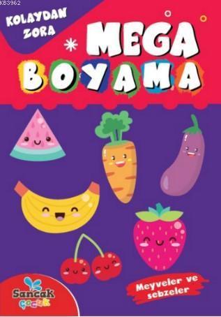 Mega Boyama; Meyveler ve Sebzeler