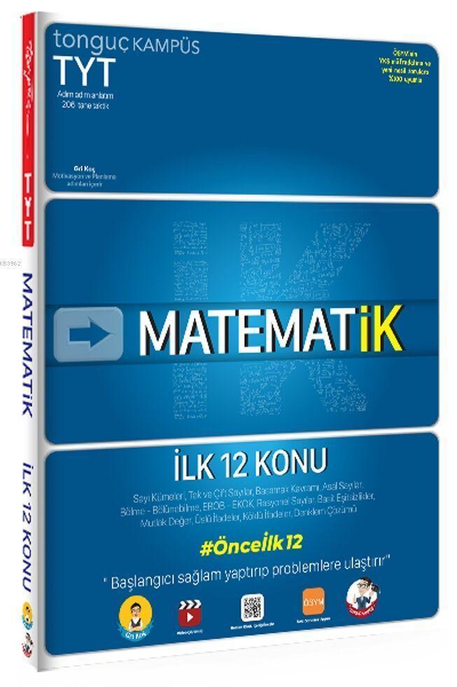 Tonguç TYT MatematİK İlk 12 Konu Soru Bankası