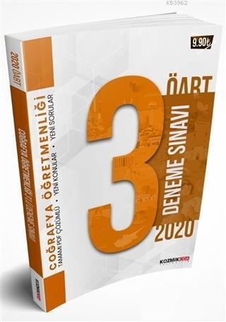 2020 ÖABT Coğrafya Öğretmenliği PDF Çözümlü 3'lü Deneme