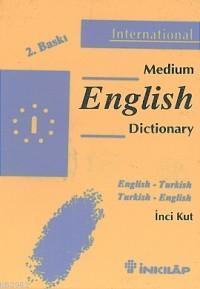 İngilizce-Türkçe Medium Sözlüğü