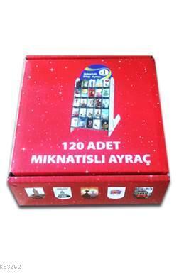 Mıknatıslı Ayraç 120'lik Kutu (İstanbul Temalı)
