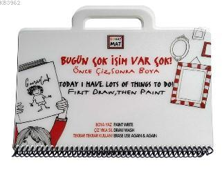 Funny Mat Mini Set-Bugün Çok İşim Var Çok!