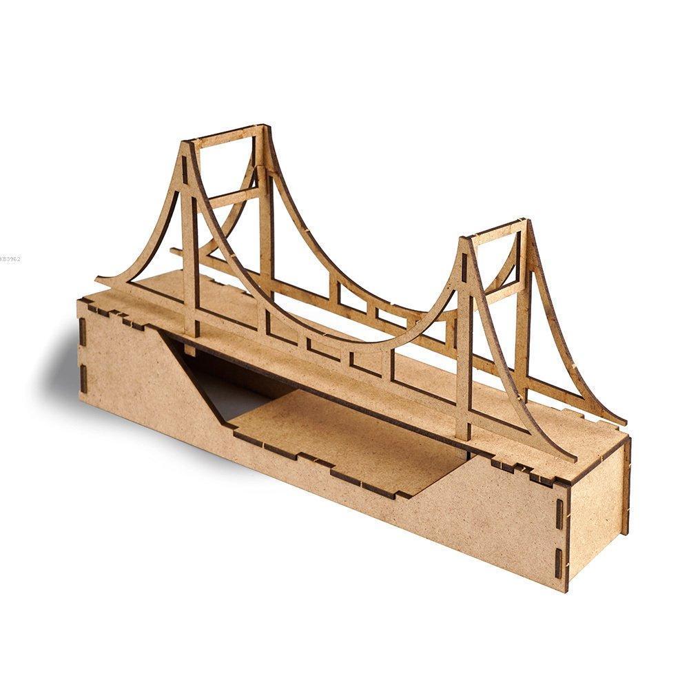 Misyon 3D Ahşap Maket 15 Temmuz Şehitler Köprüsü