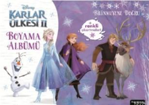 Disney Karlar Ülkesi 2 Boyama Albümü Bilinmeyene Doğru