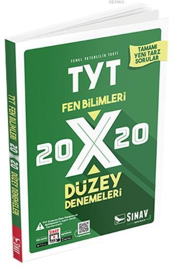 Sınav Dergisi Yayınları TYT Fen Bilimleri 20x20 Düzey Denemeleri Sınav Dergisi