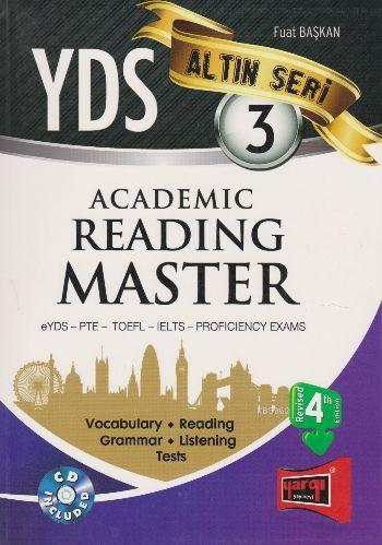 Altın Seri 3 Akademi Reading Master eYDS PTE TOEFL IELTS PROFICIENCY EXAMS