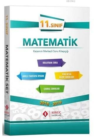 11.Sınıf Matematik Seti 2018-2019