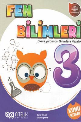 Nitelik Yayınları 3. Sınıf Fen Bilimleri Konu Kitabı Nitelik