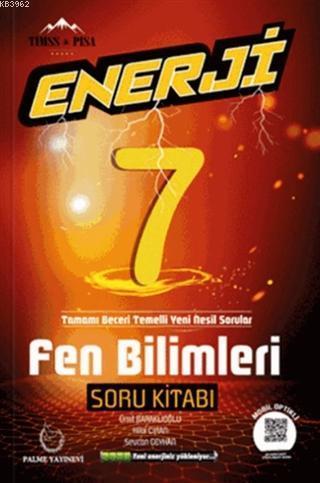 Palme Yayınları 7. Sınıf Fen Bilimleri Enerji Soru Kitabı Palme