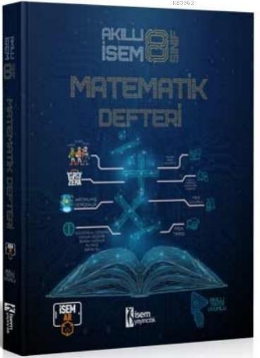 İsem 2021 8.Sınıf Akıllı İsem Matematik Defteri